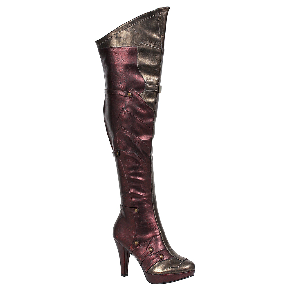 Adult Wonder Woman Boots Image #1