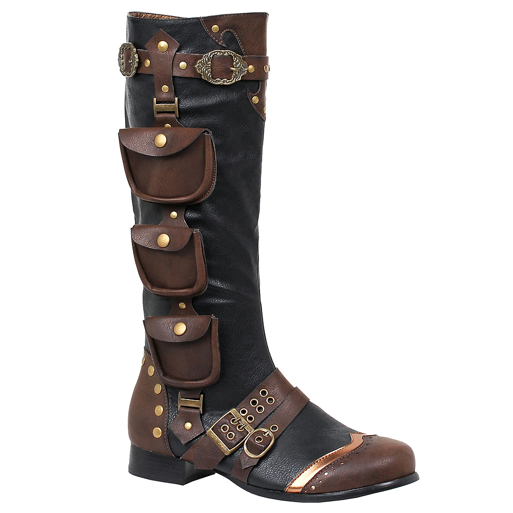 Adult Steampunk Boots Image #1