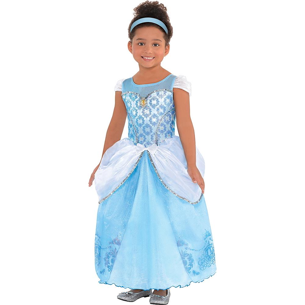 Girls Cinderella Costume Image #1