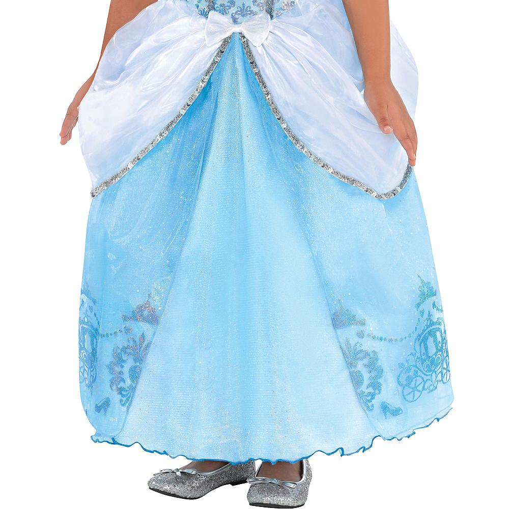 Girls Cinderella Costume Image #3