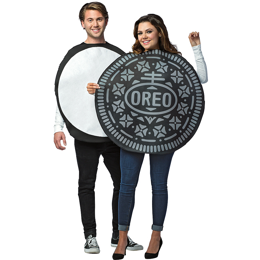 Adult Oreos Couples Costume Image #1