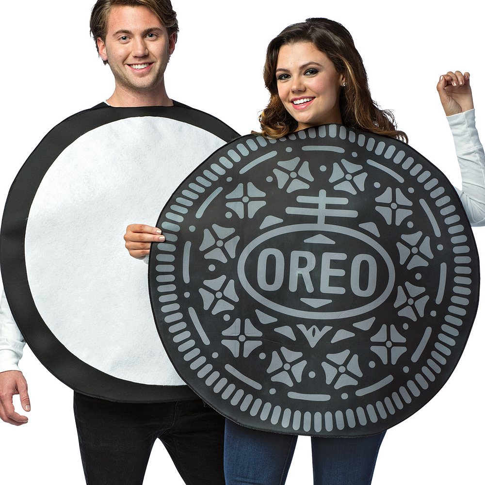 Adult Oreos Couples Costume Image #2