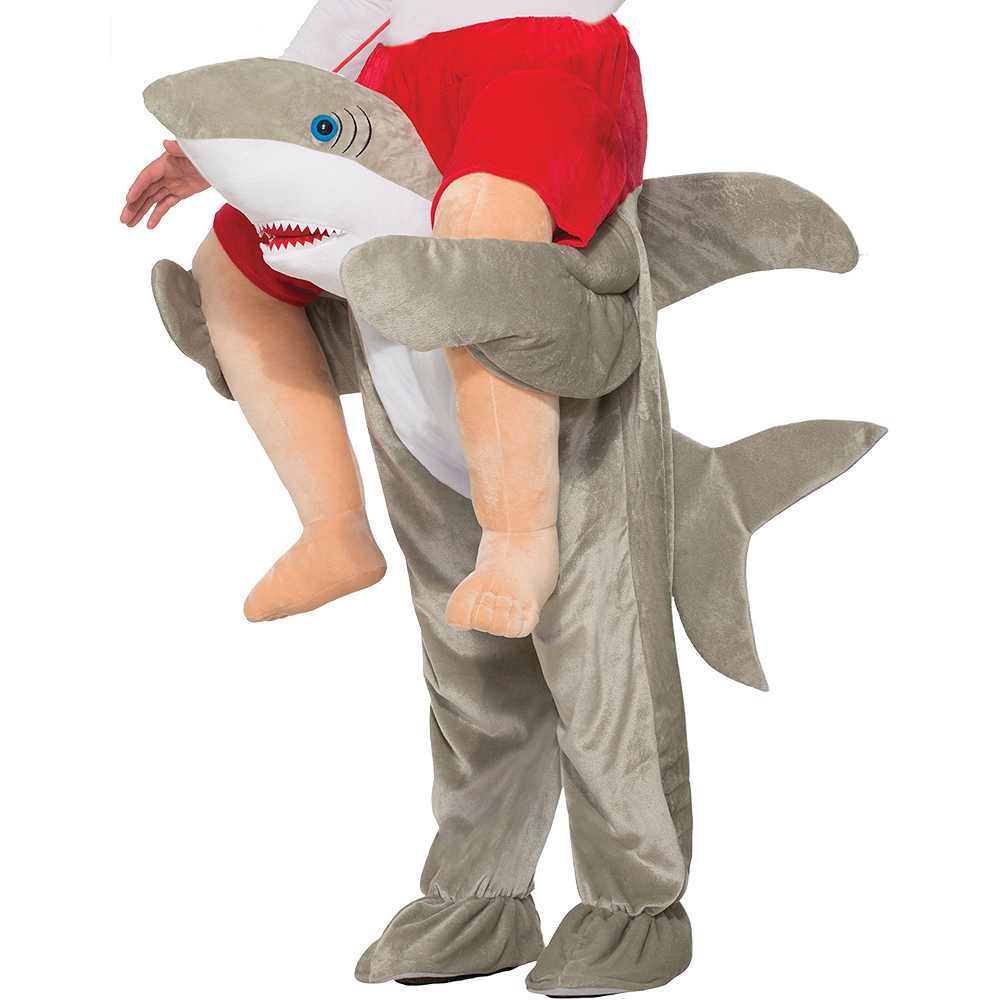 2fb3600046a ... Adult Shark Ride-On Costume Image  2