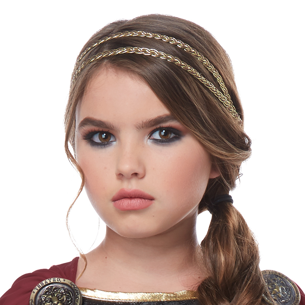Nav Item for Girls Fearless Gladiator Costume Image #2