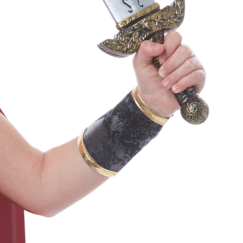 Nav Item for Girls Fearless Gladiator Costume Image #3