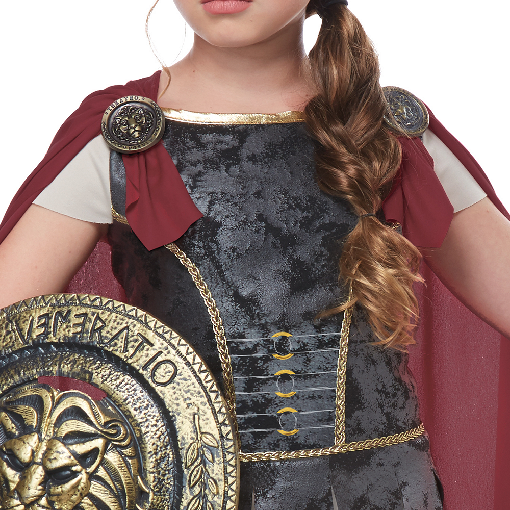 Girls Fearless Gladiator Costume Image #4