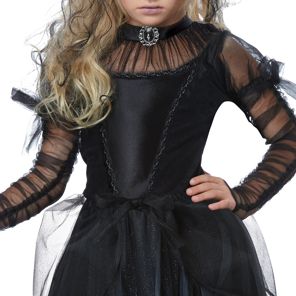 Girls Dark Princess Costume Image #3