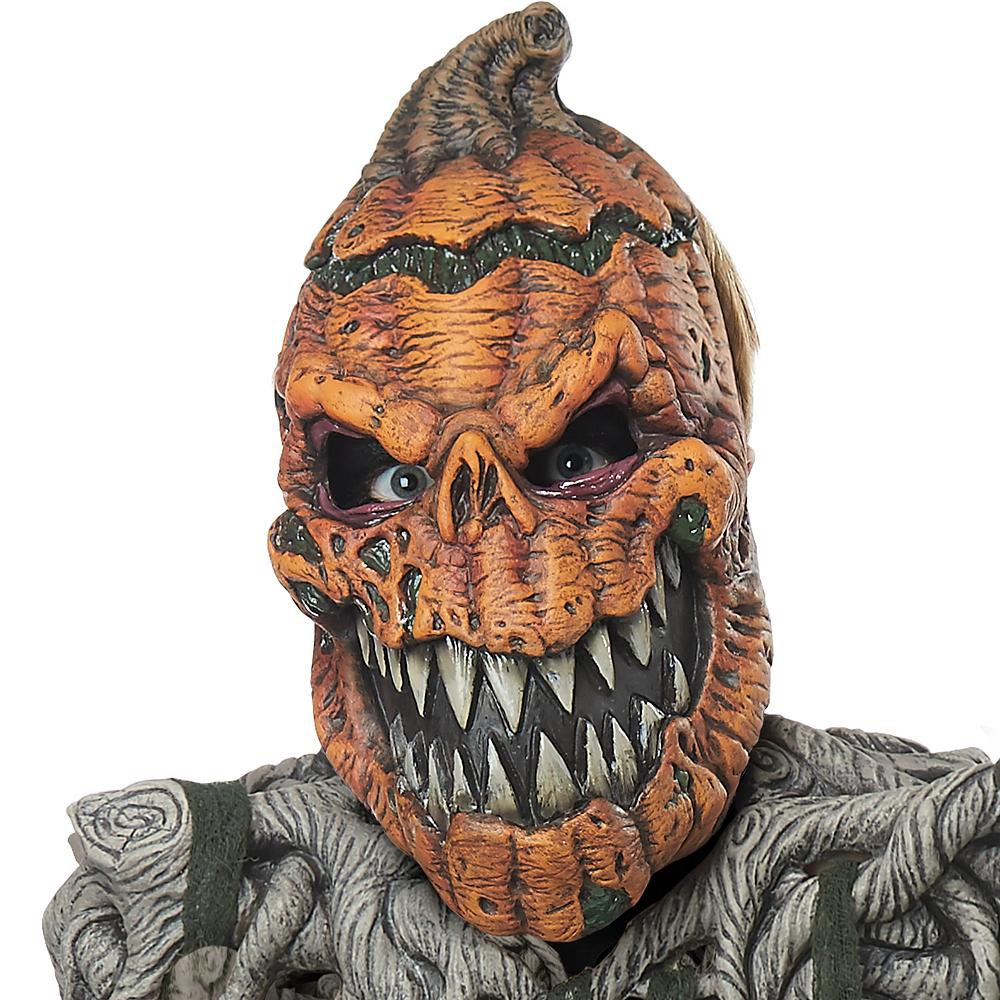 Boys Evil Pumpkin Creature Costume Image #2