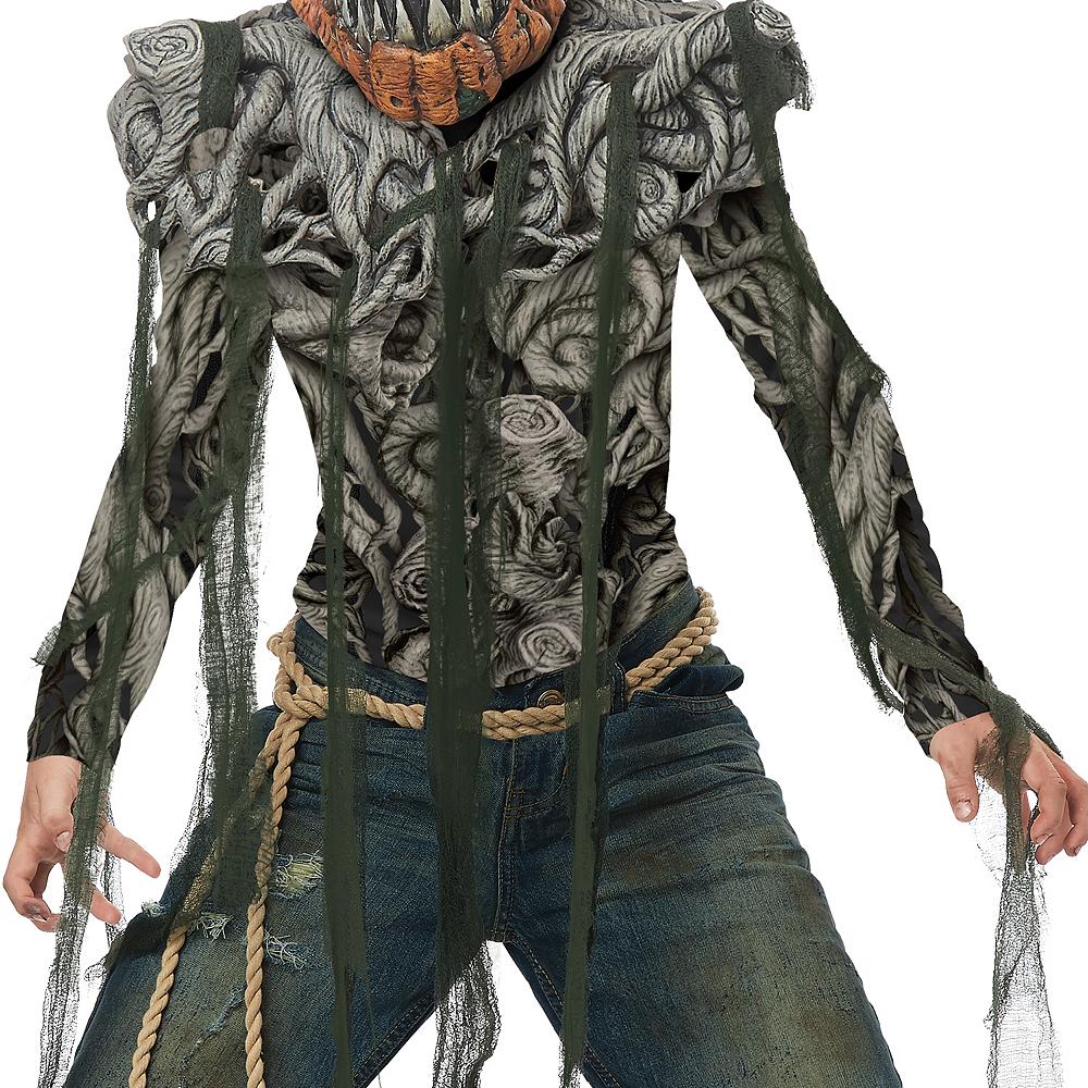 Boys Evil Pumpkin Creature Costume Image #3