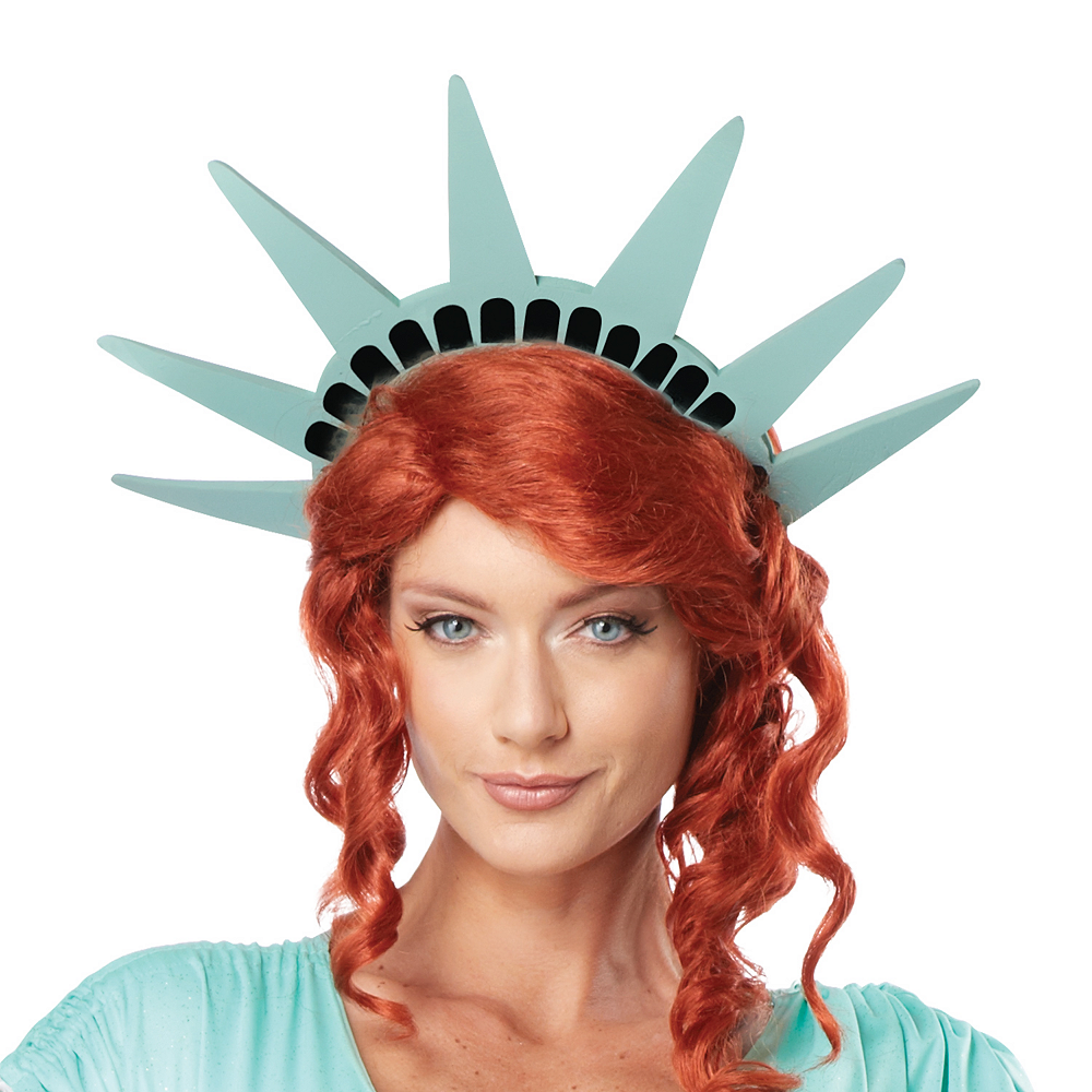 Adult Sexy Lady Liberty Costume Image #2