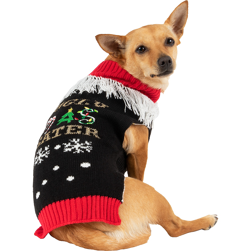 Ugly Christmas Dog Sweater Image #1
