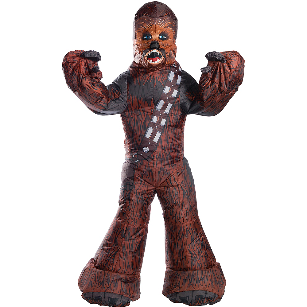 Inflatable Adult Chewbacca Costume - Star Wars Image #1