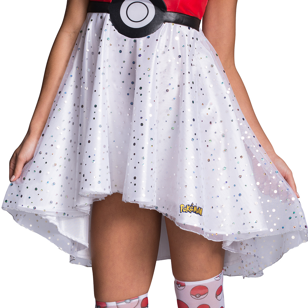 Adult Pokeball Dress Costume - Pokemon Image #3