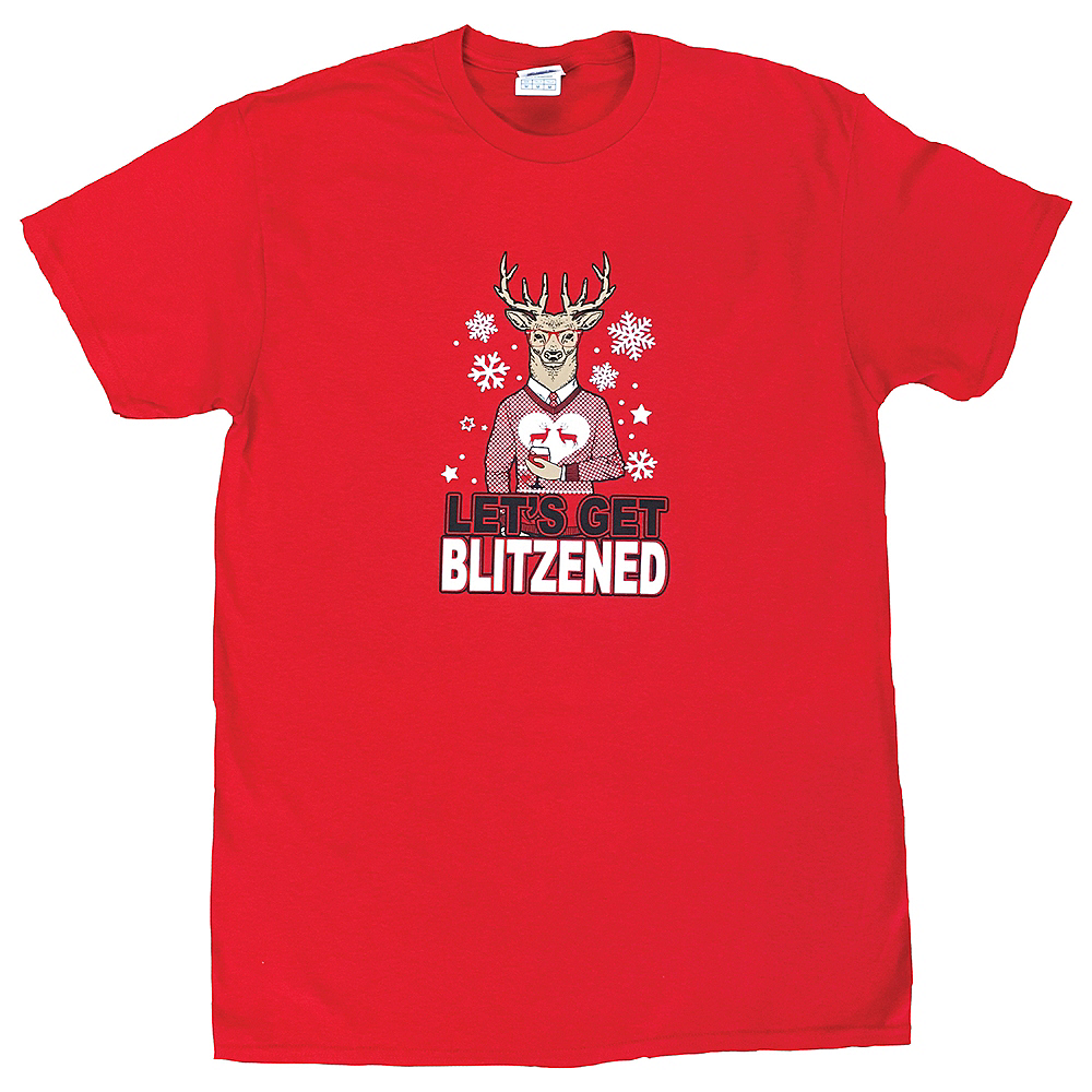 Adult Let's Get Blitzened T-Shirt Image #1