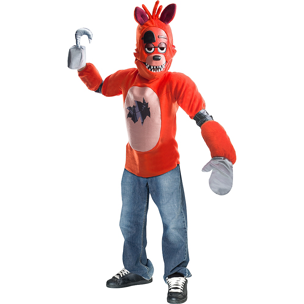 Boys Foxy Costume Five Nights At Freddys Party City
