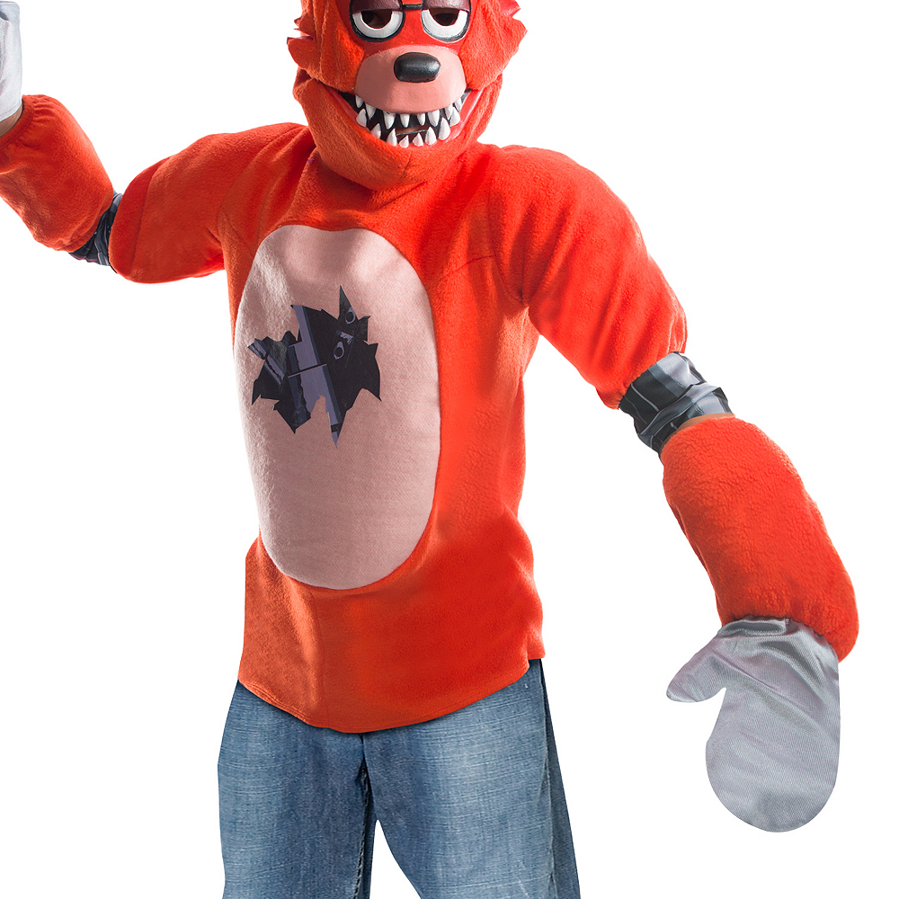 Boys Foxy Costume - Five Nights at Freddy's Image #3