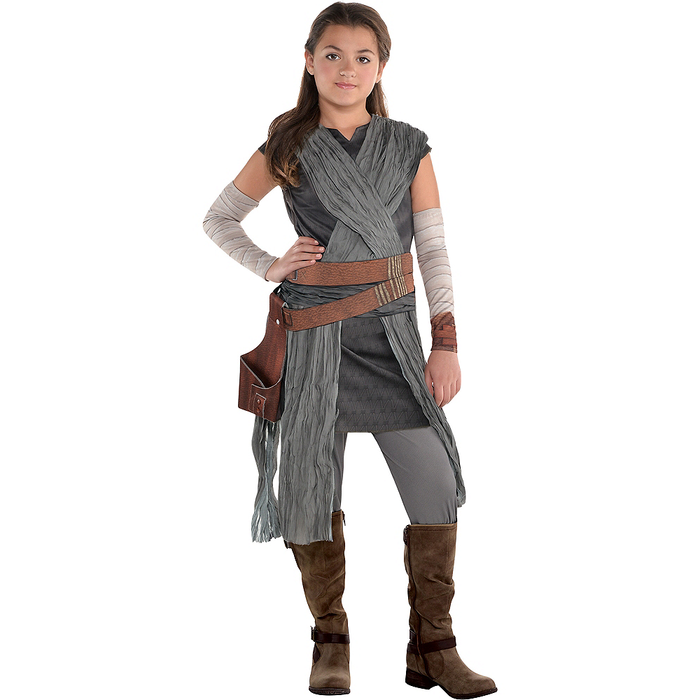 Girls Rey Costume - Star Wars 8 The Last Jedi Image #1