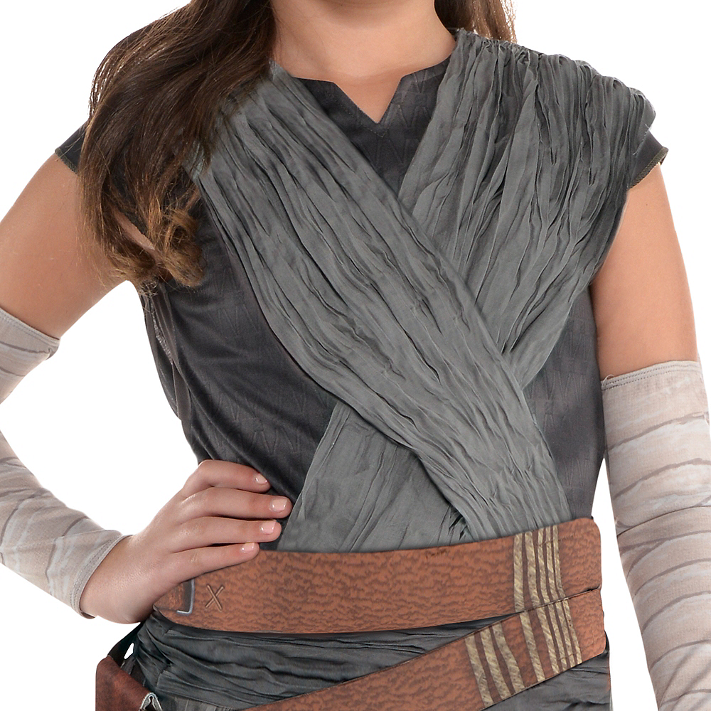 Girls Rey Costume - Star Wars 8 The Last Jedi Image #2