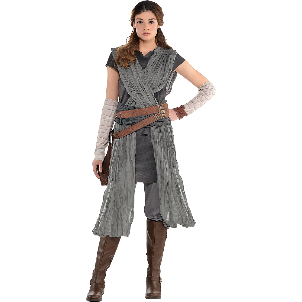 Adult Rey Costume - Star Wars 8 The Last Jedi Image #1
