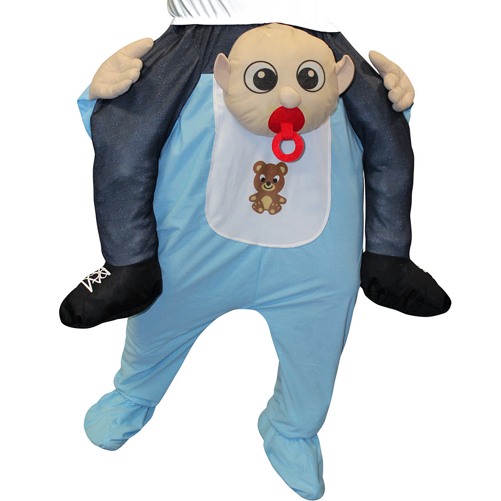 Adult Baby Ride-On Costume Image #2