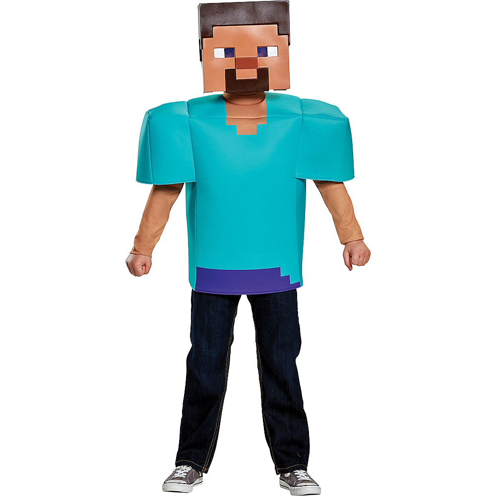 Boys Steve Costume - Minecraft Image #1