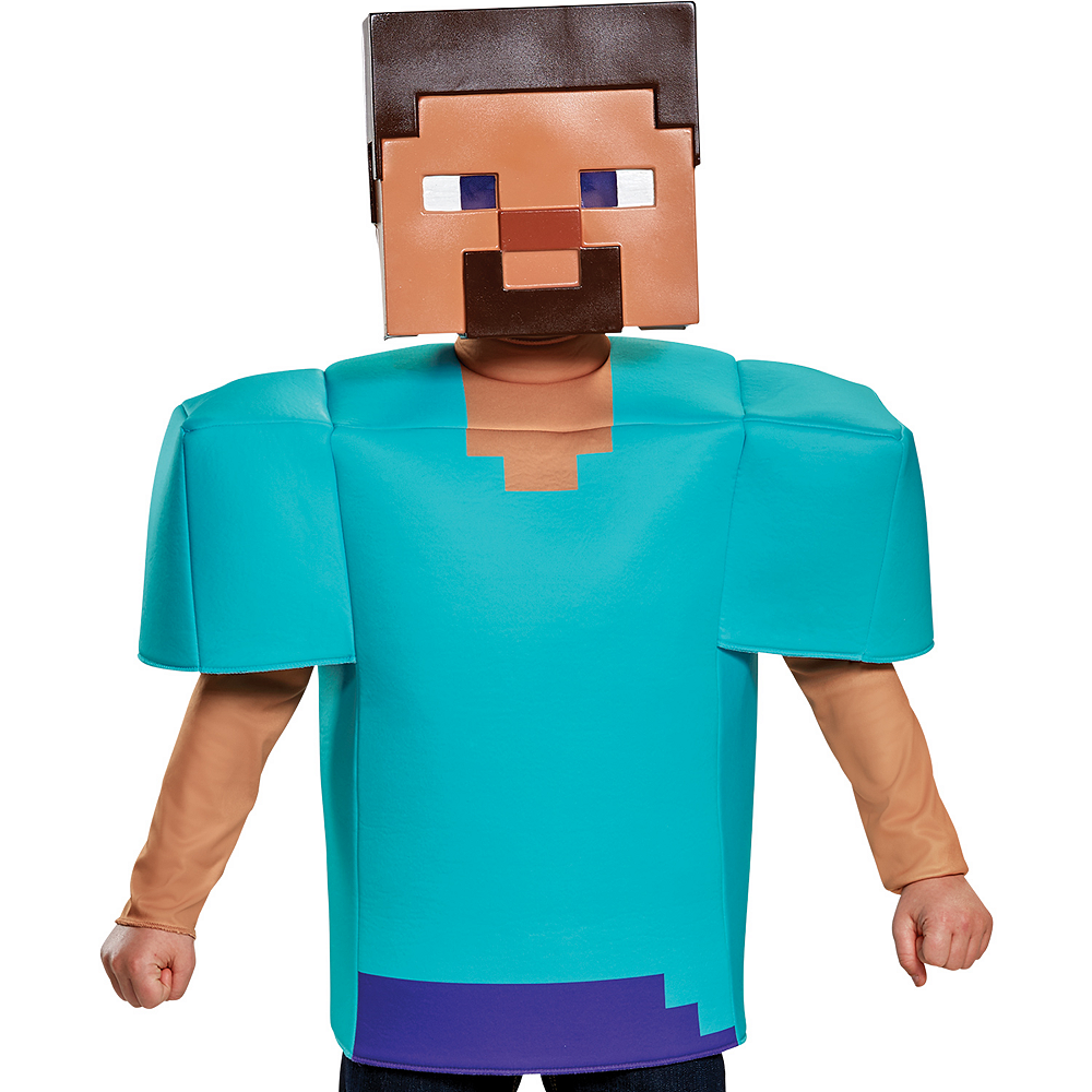 Nav Item for Boys Steve Costume - Minecraft Image #2