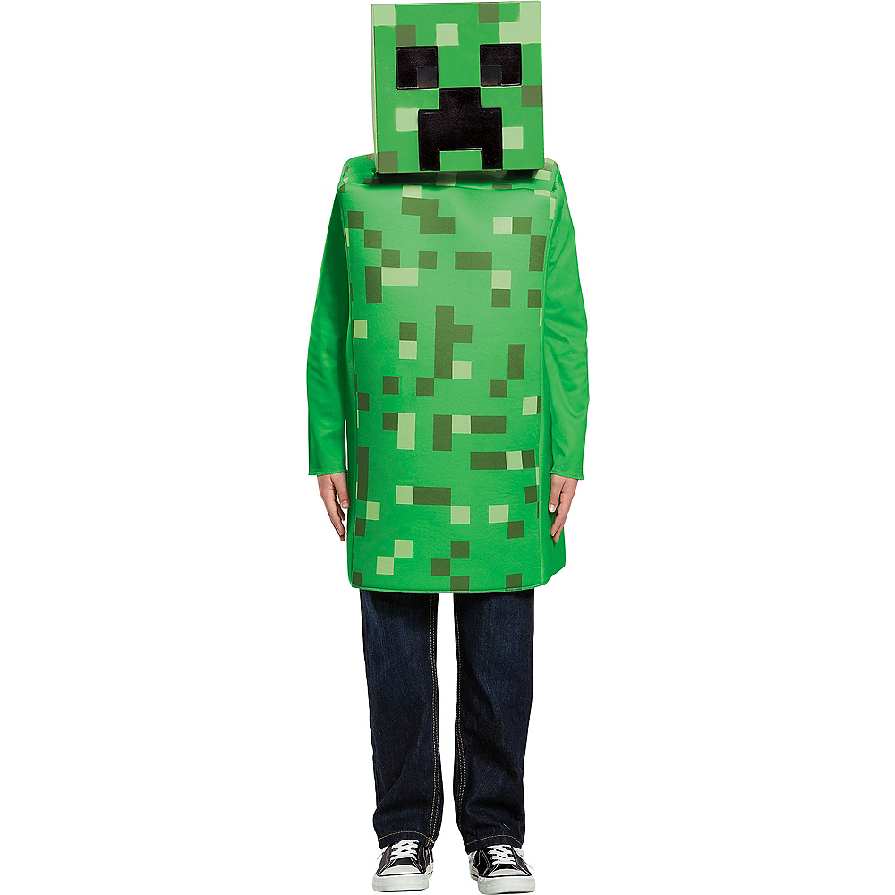 Boys Creeper Costume - Minecraft Image #1
