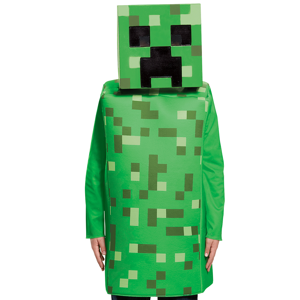 Boys Creeper Costume - Minecraft Image #2