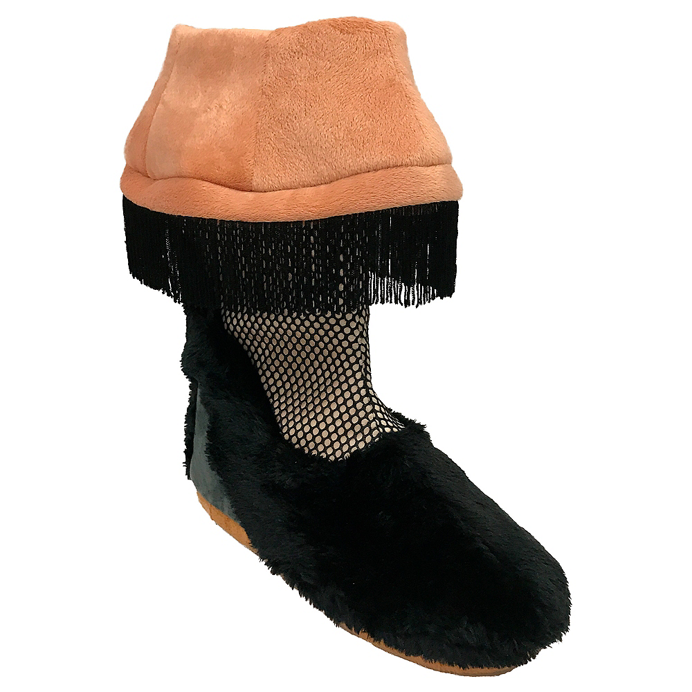 Adult A Christmas Story Leg Lamp Boots Image #2