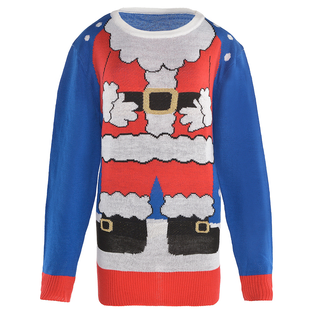 Adult Santa Suit Ugly Christmas Sweater Image #1