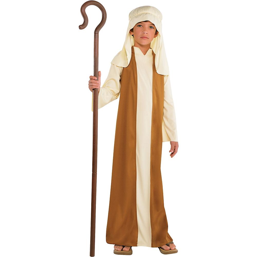 Boys Beige Saint Joseph Costume Image #1