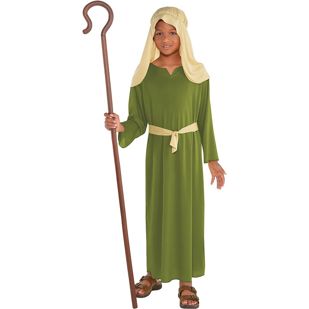 Boys Green Shepherd Costume Image #1
