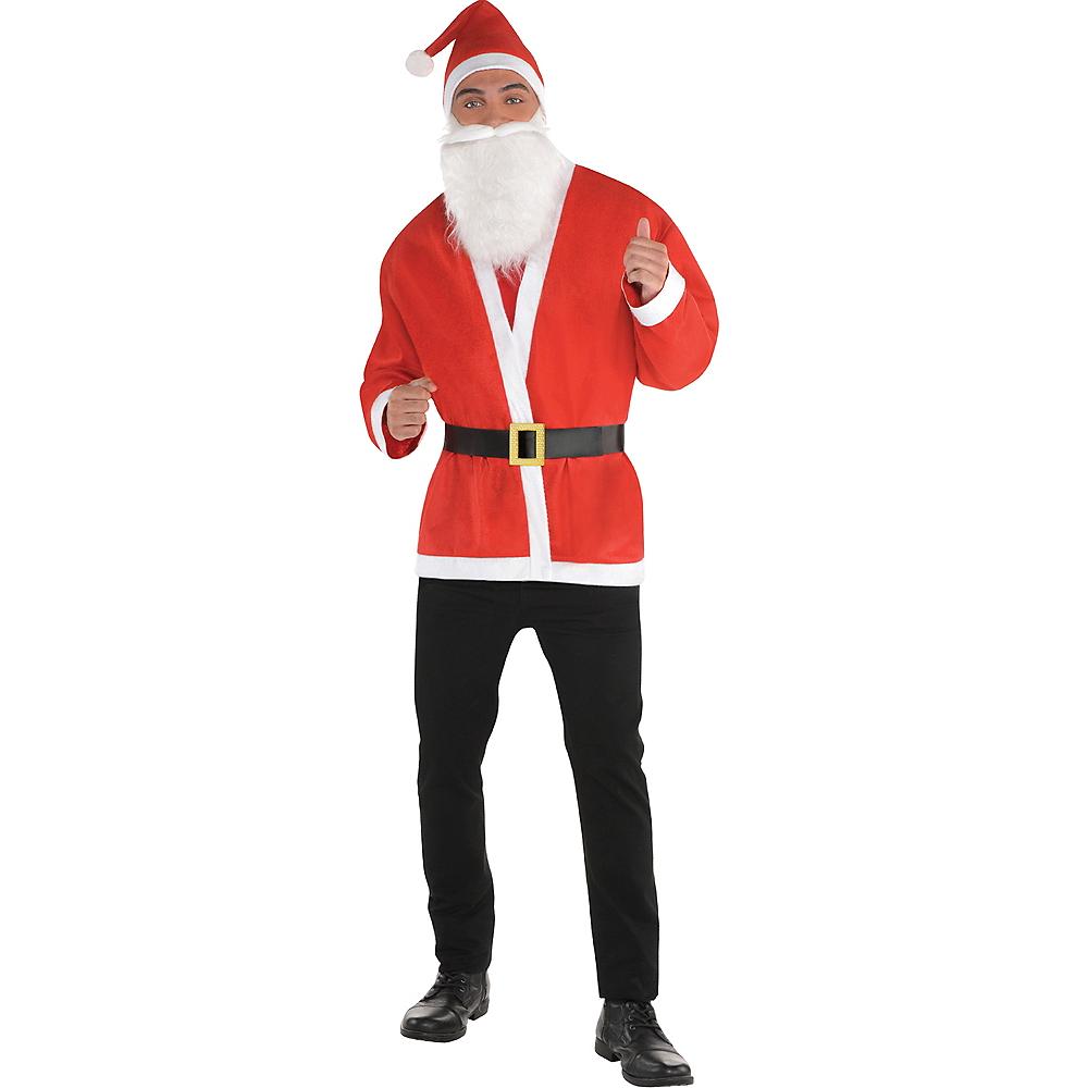 Adult Santa Costume Image #1