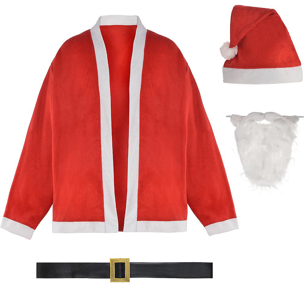 Adult Santa Costume Image #2
