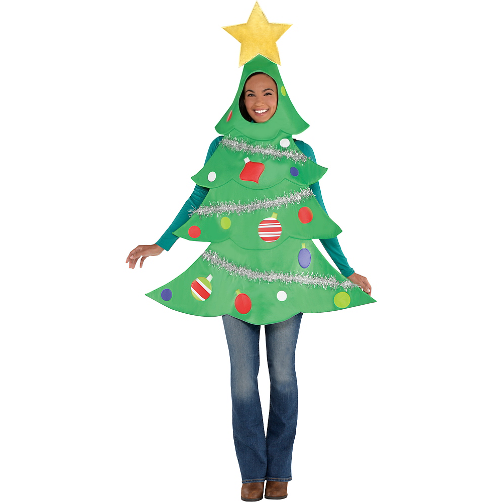 Adult Christmas Tree Costume Image #2