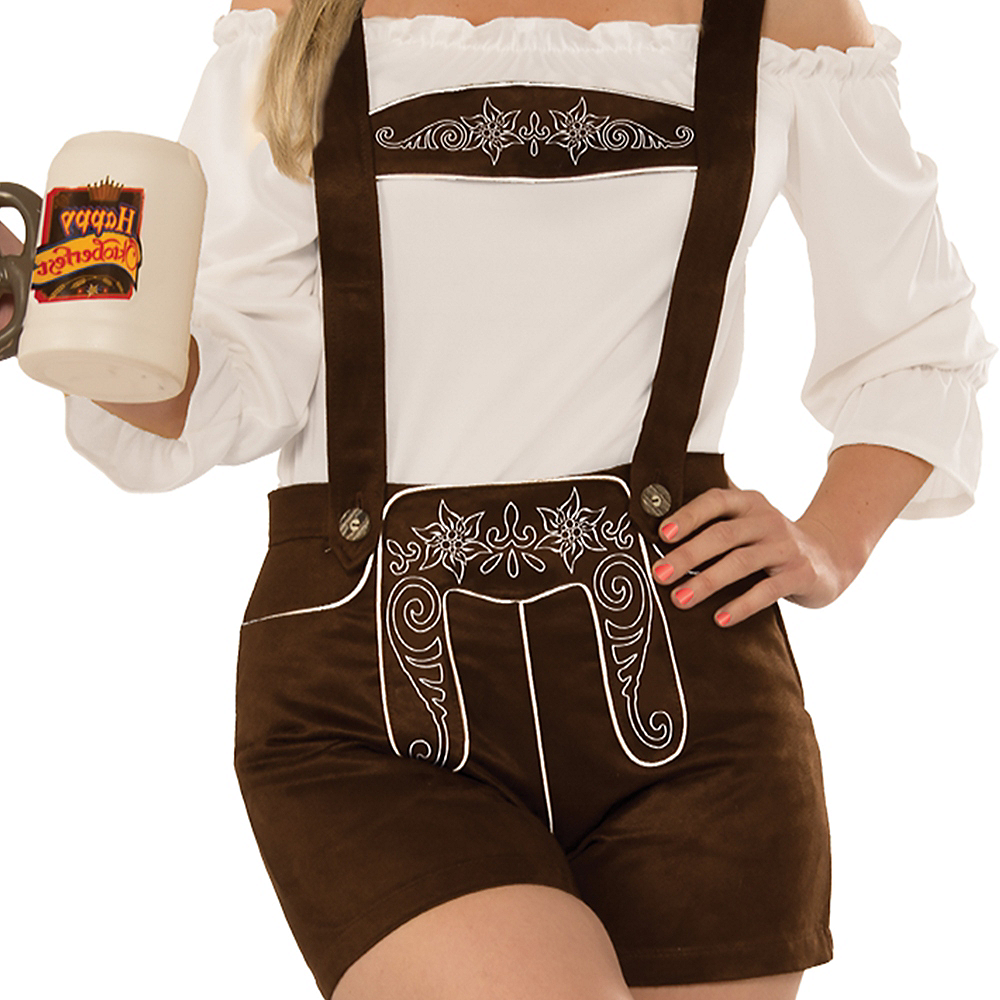 Womens Lederhosen Costume Accessory Kit Image #3