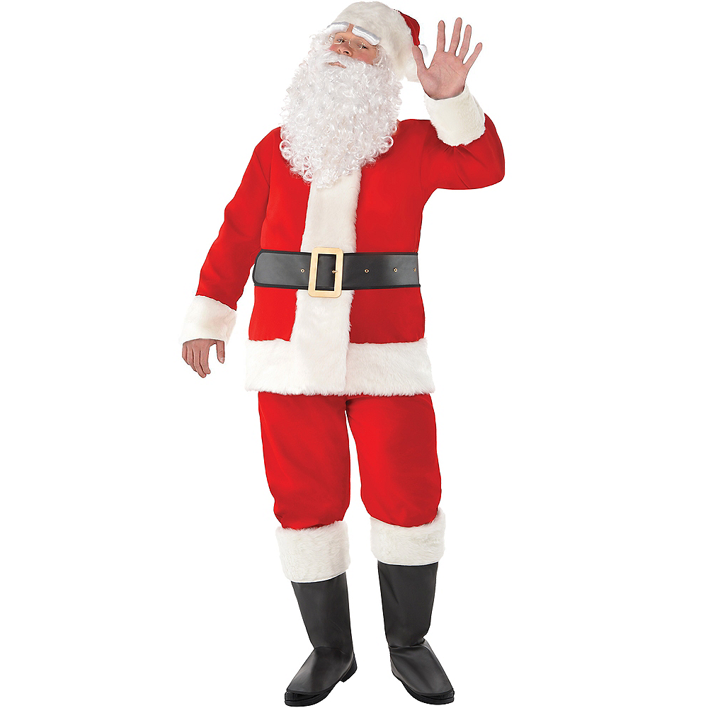 49fe5746 Velvet Santa Suit for Adults | Party City Canada