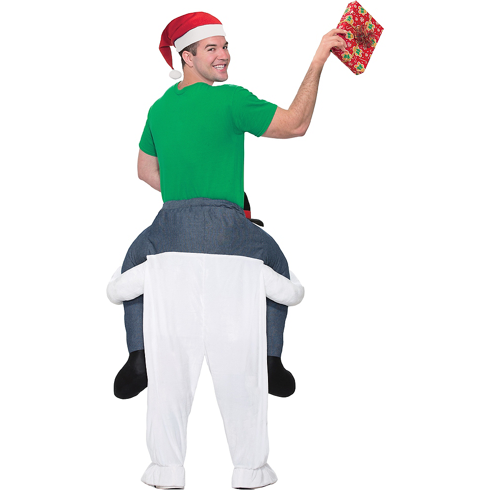 Adult Snowman Ride-On Costume Image #2