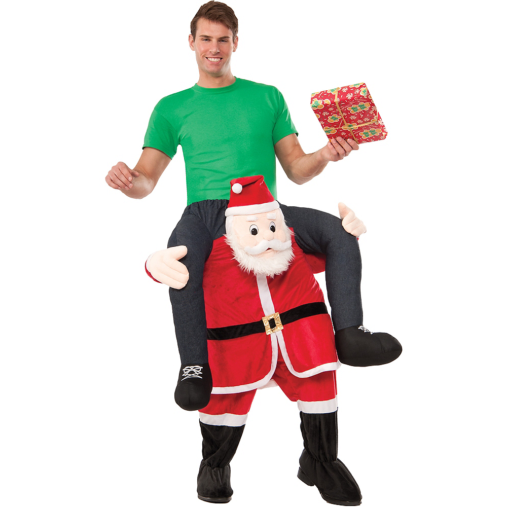 Adult Santa Ride-On Costume Image #1