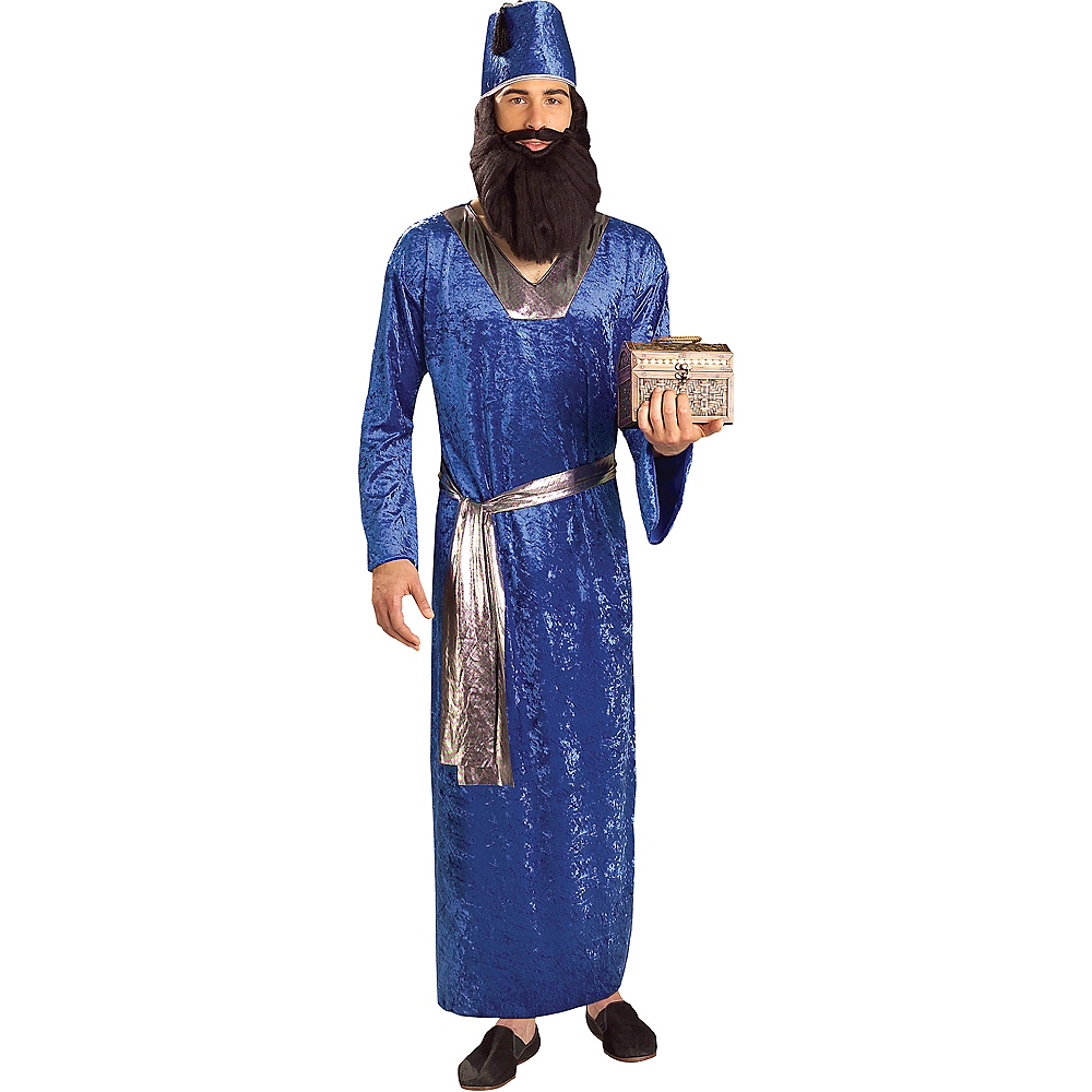 Adult Blue Wise Man Costume Image #1