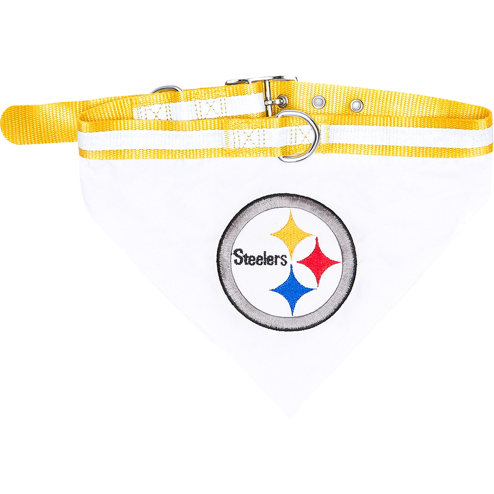Nav Item for Pittsburgh Steelers Bandana Dog Collar Image #1