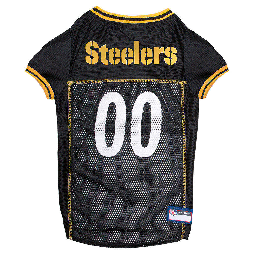3782accae Pittsburgh Steelers Dog Jersey Image  1