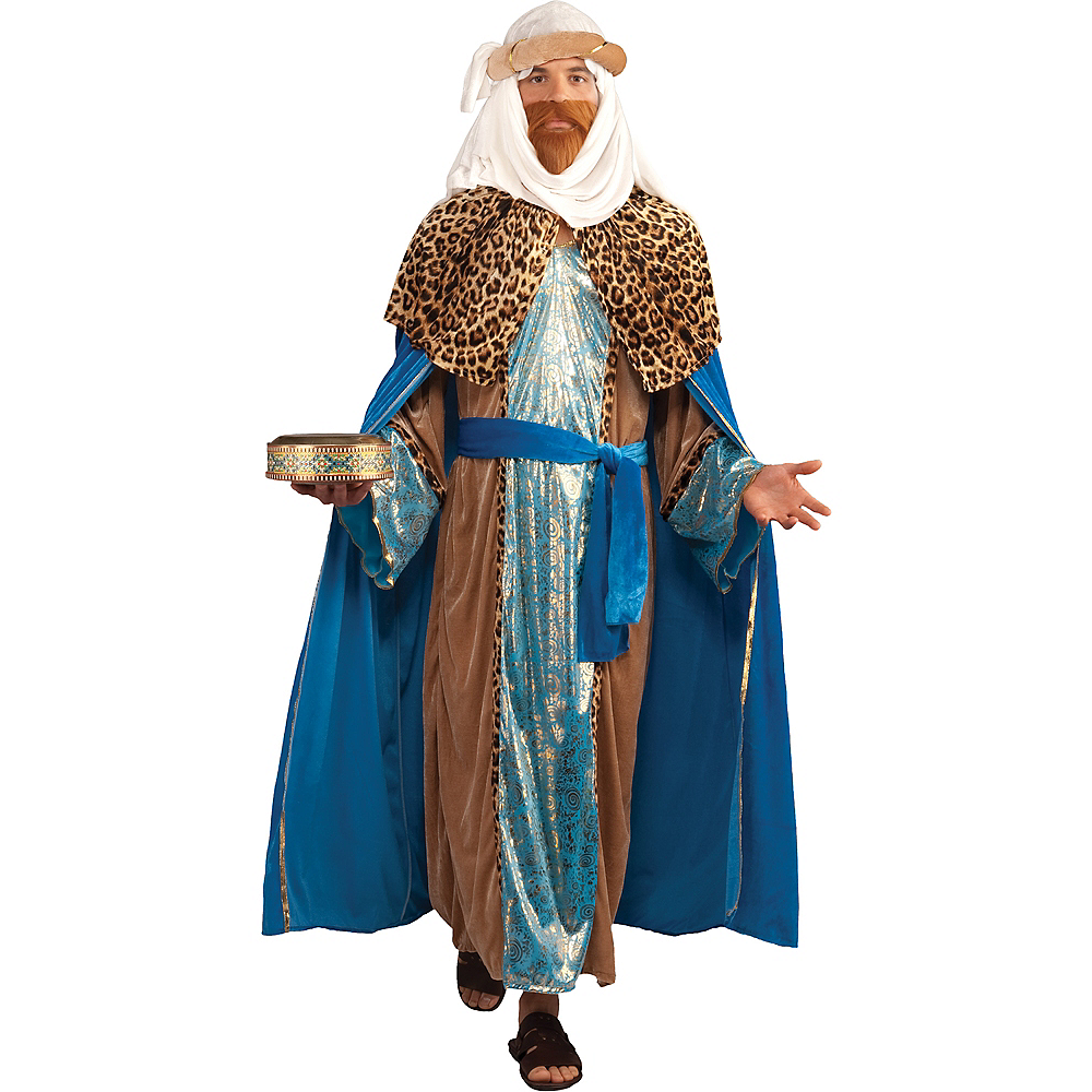 Nav Item for Adult Sapphire Wise Man Costume Image #1