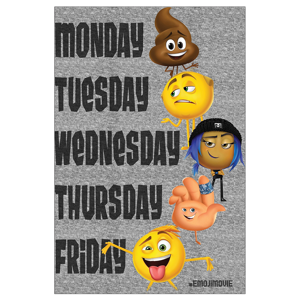 Child The Emoji Movie T Shirt Image 2