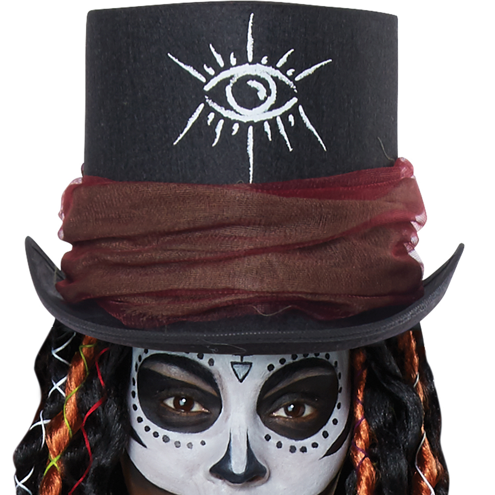 Womens Voodoo Magic Witch Doctor Costume Image #2
