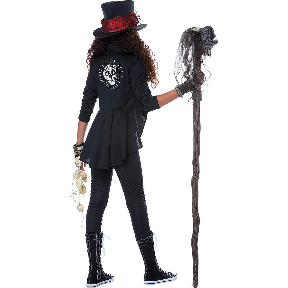 Girls Voodoo Charm Witch Doctor Costume Image #2