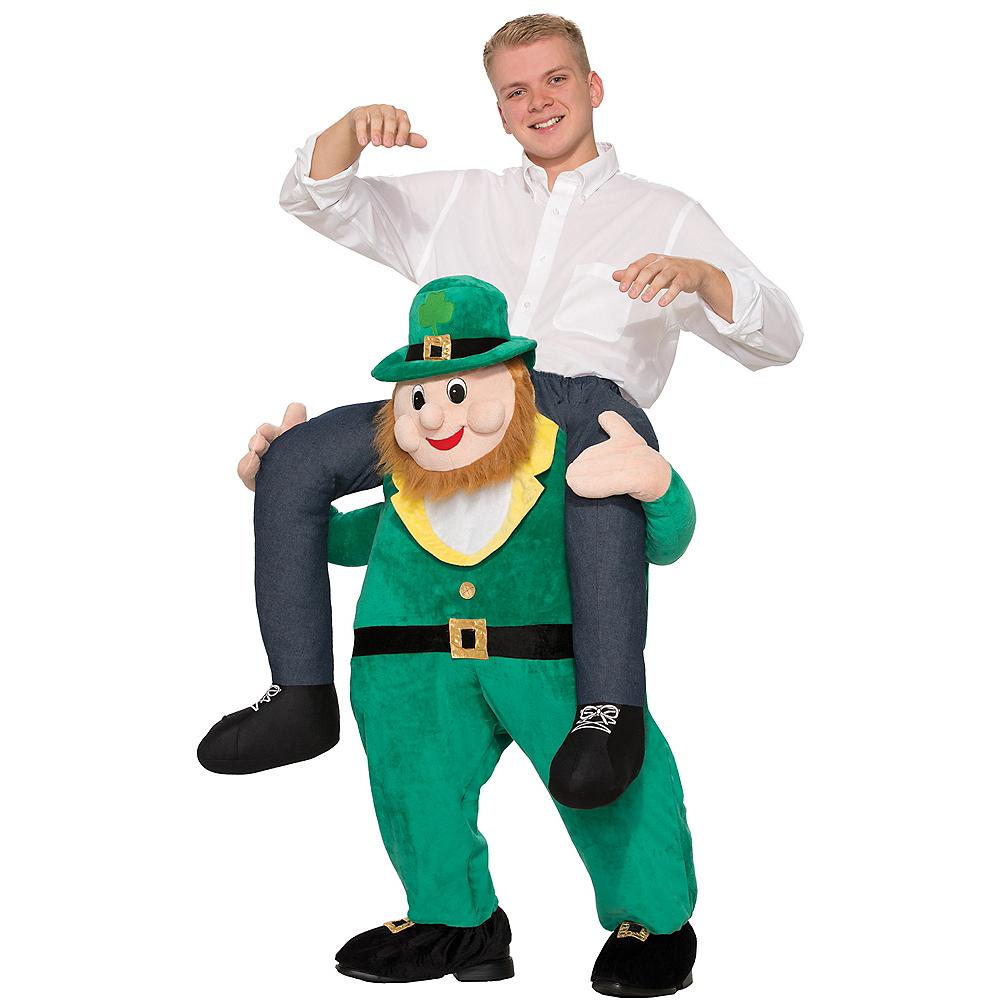 Adult Leprechaun Ride-On Costume Image #1