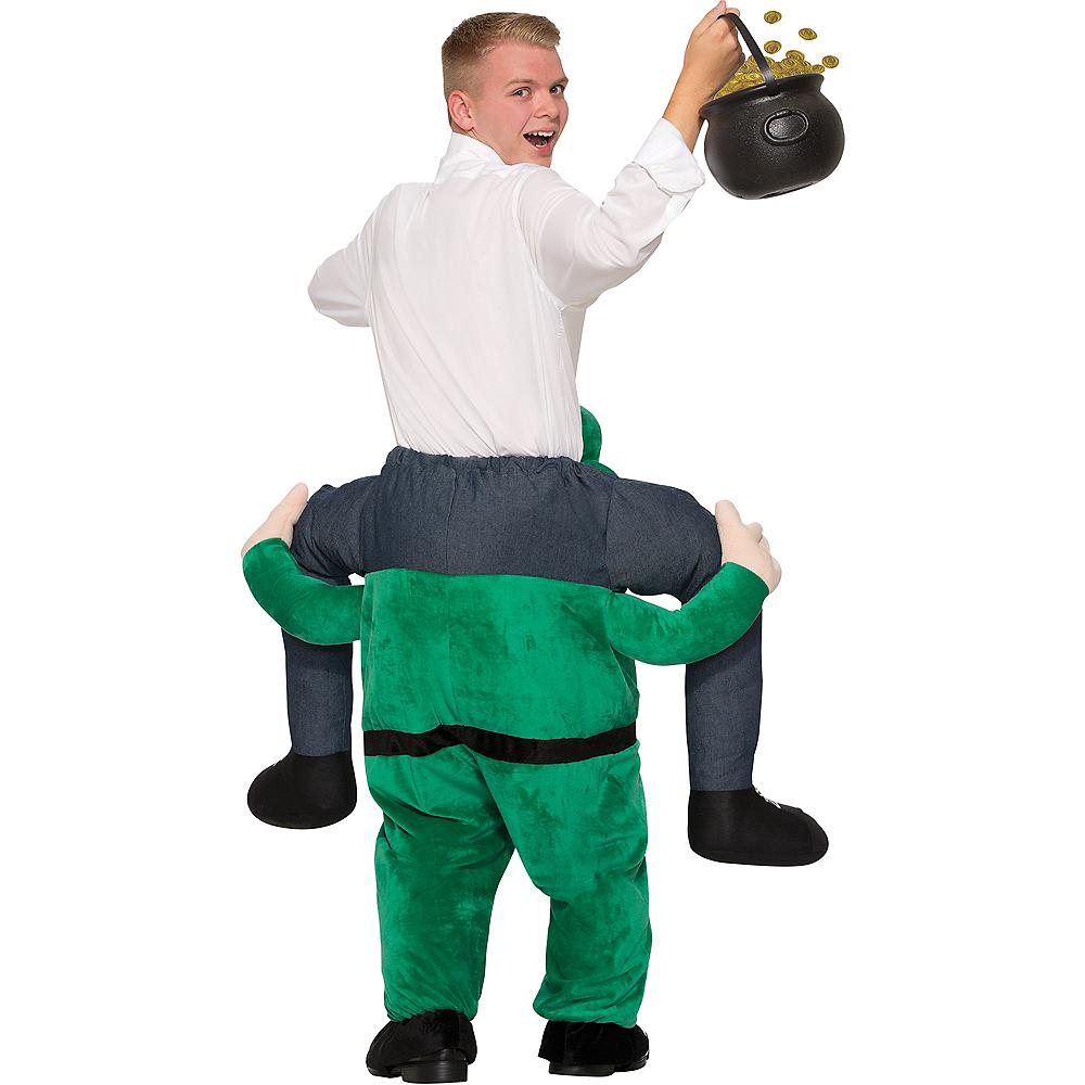 Adult Leprechaun Ride-On Costume Image #2