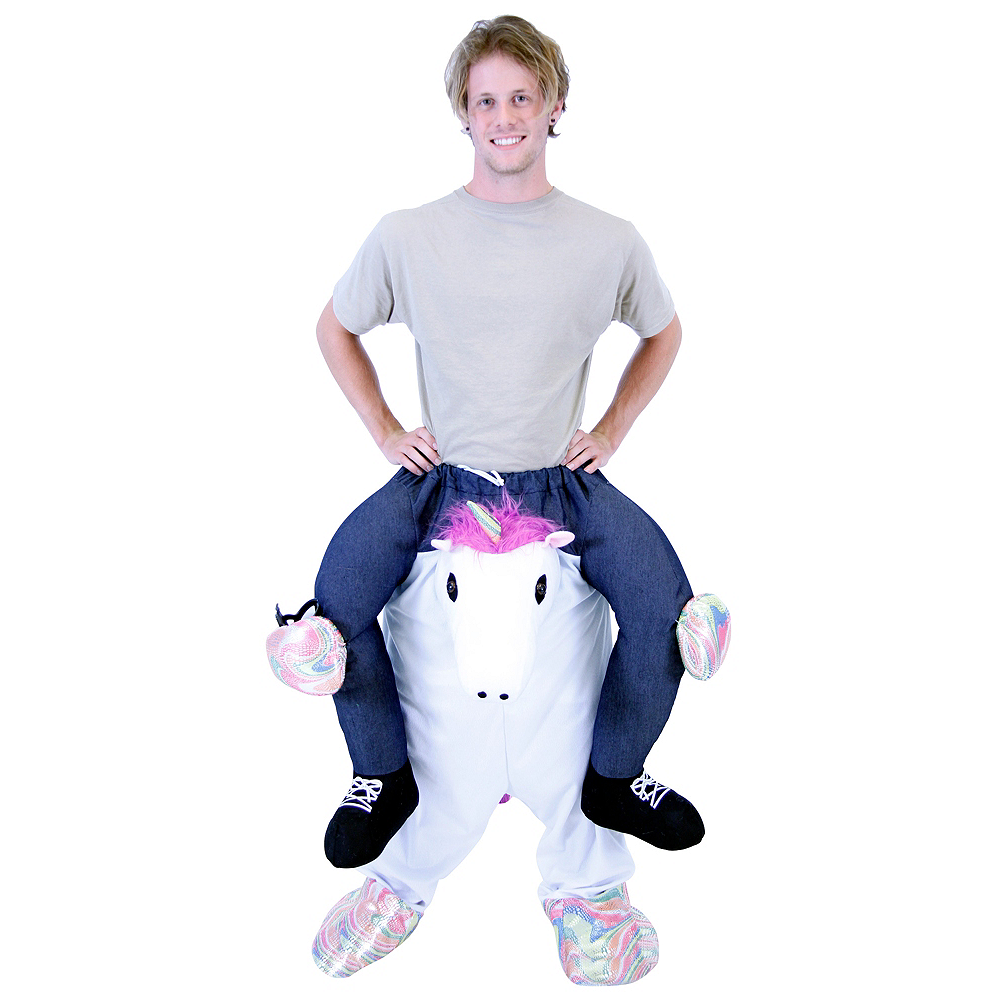 Adult Unicorn Ride-On Costume Image #1