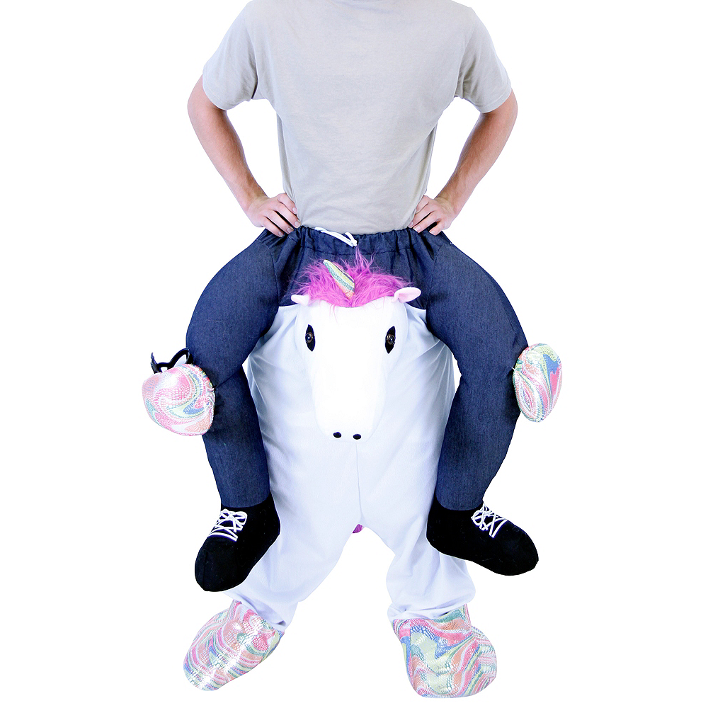 Adult Unicorn Ride-On Costume Image #2
